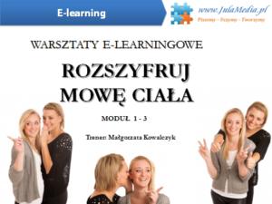 Rozszyfruj mowę ciała / PAKIET MODUŁ 1 – 3 (E-learning)