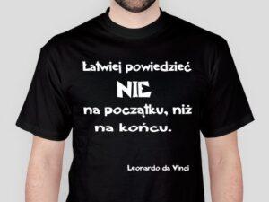Koszulka motywacyjna męska