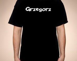Koszulka z imieniem – męska