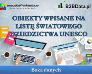 Polskie obiekty wpisane na listę światowego dziedzictwa UNESCO