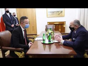 Hungarian Minister of Foreign Affairs and Trade Péter Szijjártó visits Warsaw