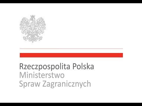 Konferencja prasowa ministrów spraw zagranicznych Polski i Hiszpanii