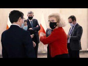 Wizyta w Warszawie szefowej dyplomacji Królestwa Hiszpanii Aranchy González Laya