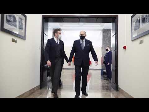 Wizyta w Warszawie szefa dyplomacji Litwy Gabrieliusa Landsbergisa