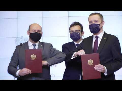 2021.02.12 Podpisanie Porozumienia MSZ – Poczta Polska