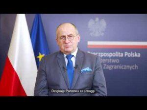 Read more about the article Wystąpienie Ministra SZ RP Zbigniewa Raua na II konferencji ministerialnej Koalicji dla Sahelu