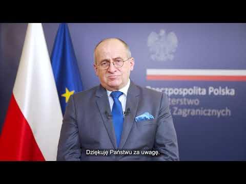 Wystąpienie Ministra SZ RP Zbigniewa Raua na II konferencji ministerialnej Koalicji dla Sahelu