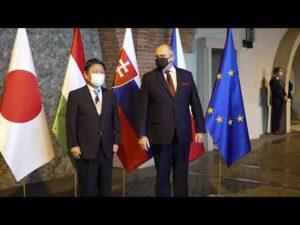 Spotkanie ministrów spraw zagranicznych państw Grupy Wyszehradzkiej i Japonii