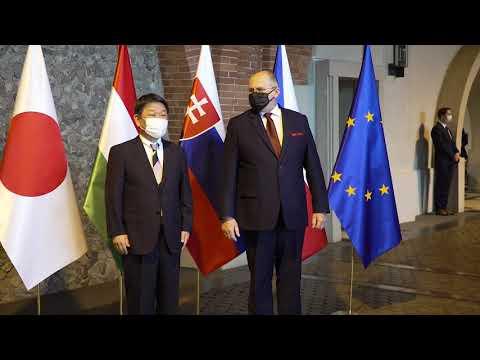Read more about the article Spotkanie ministrów spraw zagranicznych państw Grupy Wyszehradzkiej i Japonii