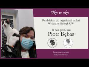 Read more about the article Oko w oko: Prodziekan ds. organizacji badań – dr hab. Piotr Bębas, prof.ucz.