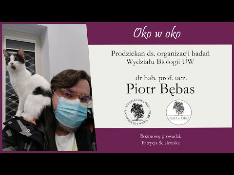 Oko w oko: Prodziekan ds. organizacji badań – dr hab. Piotr Bębas, prof.ucz.