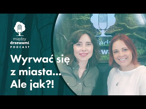 Read more about the article Między Drzewami #72 Wyrwać się z miasta… Ale jak?! [Maria Rothert] | PODCAST