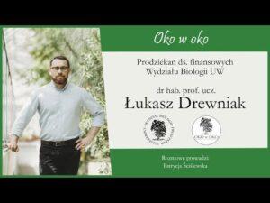 Read more about the article Oko w oko: Prodziekan ds. finansowych – dr hab. Łukasz Drewniak, prof.ucz.
