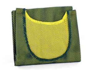 Znacznik piłkarski tbn-801r zielono-żółty dwustronny