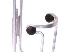 Aluminiowy koszyk bidonu 317-02 srebrny