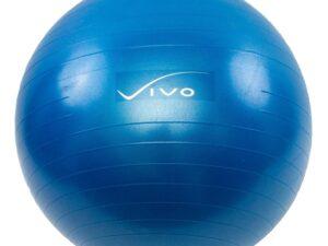 Piłka gimnastyczna vivo 75cm dark blue fa003