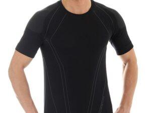 Brubeck ss10220 koszulka męska czarny