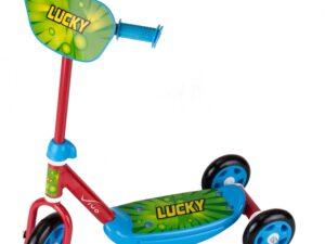 Hulajnoga vivo 3-kołowa 140-125mm czerwono-niebiesko-zielona