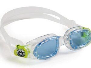 Aquasphere okulary do pływania moby kid ciemne szkła  transp/lime