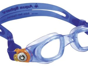 Aquasphere okulary do pływania moby kid clear lens blue/orange