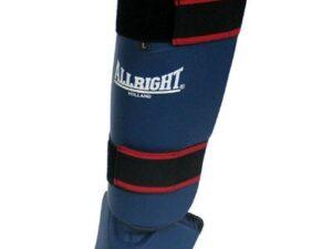Nagolennik z osłoną stopy pu niebieski allright