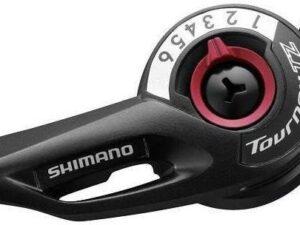 Dźwignia przerzutki shimano sl-tz500 prawa 6-rzędowa z linką
