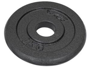 Obciążenie żeliwne czarne 1kg vivo