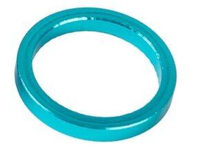 Podkładka dystansowa sterów aluminiowa 5mm niebieskie