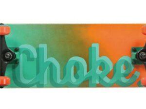 Deskorolka choke logo series greenish – towar powystawowy