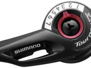 Dźwignia przerzutki shimano sl -tz500 prawa 7-rzędowa z linką