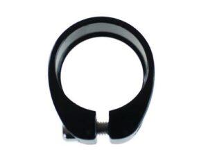 Aluminiowa obejma siodła 34.9mm na imbus czarna