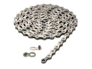 Łańcuch 10-rzędowa kmc x-10 114-ogniw srebrny z zapinką box