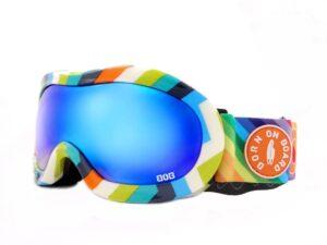 Gogle narciarskie / snowboardowe bob rainbow shine