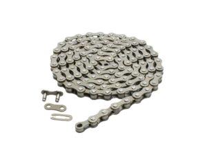 Łańcuch 1-rzędowy lynx 1/2 x 1/8 112 ogniw 8.6 mm srebrny single speed