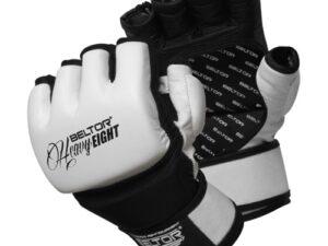 Beltor rękawice mma eight biało-czarne