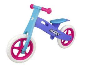 Rowerek biegowy ander v1.1 12″ eva violet-blue