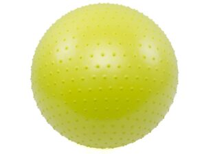 Piłka gimnastyczna z masażem vivo 65cm lime fa005