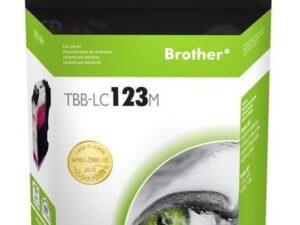Tusz tb print do brother lc123 magenta tbb-lc123m