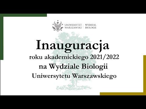 Read more about the article Uroczysta inauguracja roku akademickiego 2021/2022 na Wydziale Biologii Uniwersytetu Warszawskiego