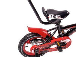 Rower dziecięcy racer 12″ czarno-czerwony