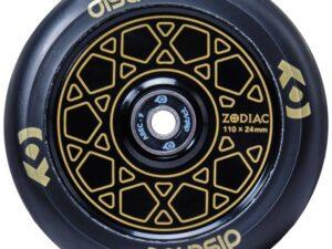 District zodiac kółko do hulajnogi wyczynowej 110mm złote / czarne