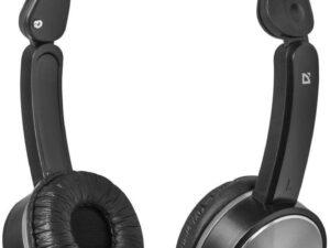 Słuchawki z mikrofonem defender accord 145 czarno-szare