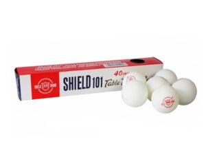 Piłeczki do tenisa stołowego shield 6 szt białe