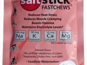 Elektrolityczne pastylki do ssania saltstick – 10 szt smak arbuzowy