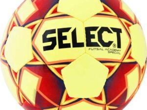 Piłka halowa select futsal academy special żółto-czerwony