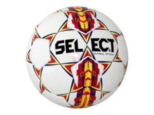 Piłka halowa select futsal attack b-gr biało-czerwony