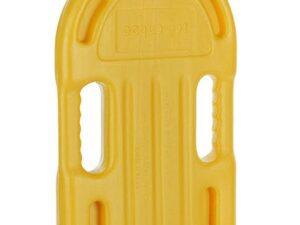 Deska do pływania mała plastik kimet – żółta