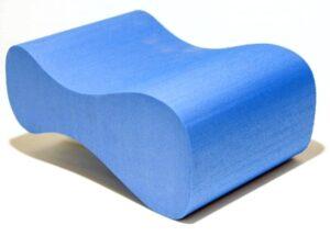 Deska do pływania enero ósemka niebieska