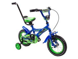 Rower dziecięcy racer 12″ niebiesko-zielony