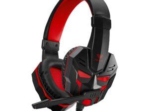 Słuchawki z mikrofonem dla graczy aula prime basic gaming